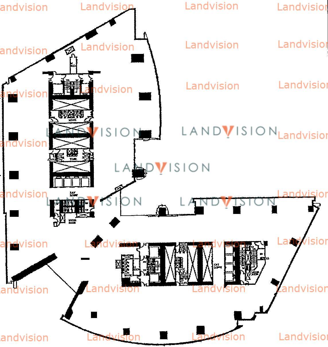 ICBC Tower- floor plan
