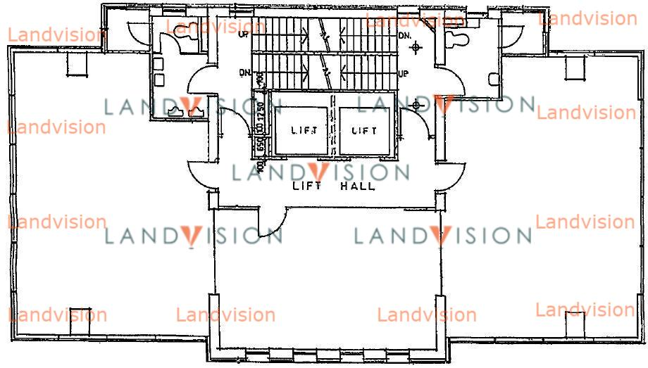 Lucky Building- floor plan