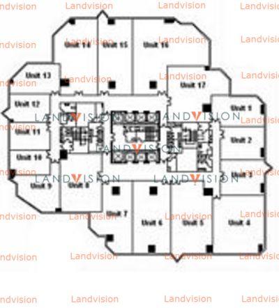 康宏廣場-平面圖