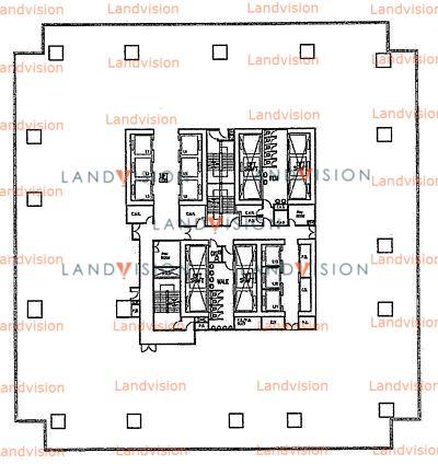 Skyline Tower- floor plan
