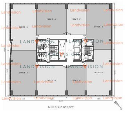 Legend Tower- floor plan