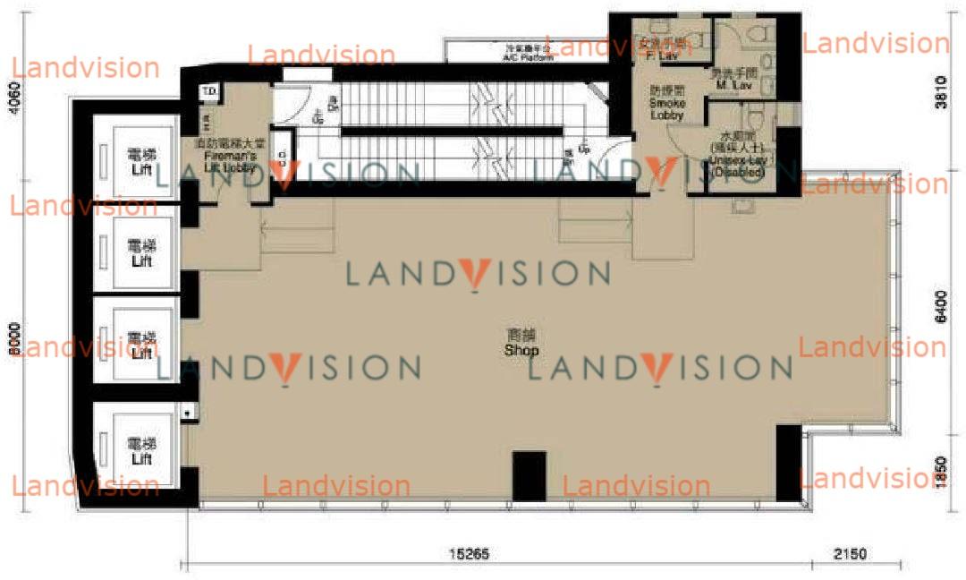 18 On Lan Street- floor plan