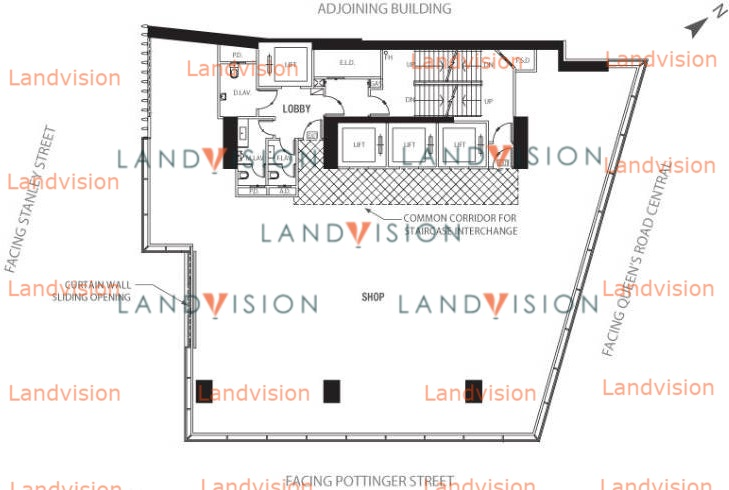 H Queen's- floor plan