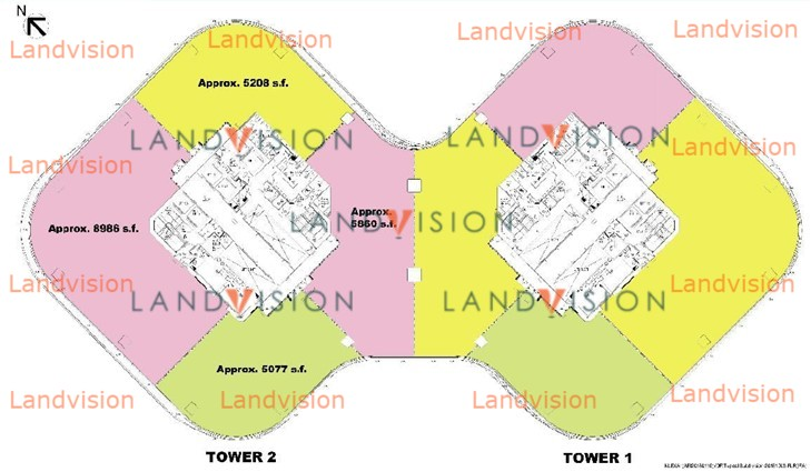 The Quayside Tower 1- floor plan