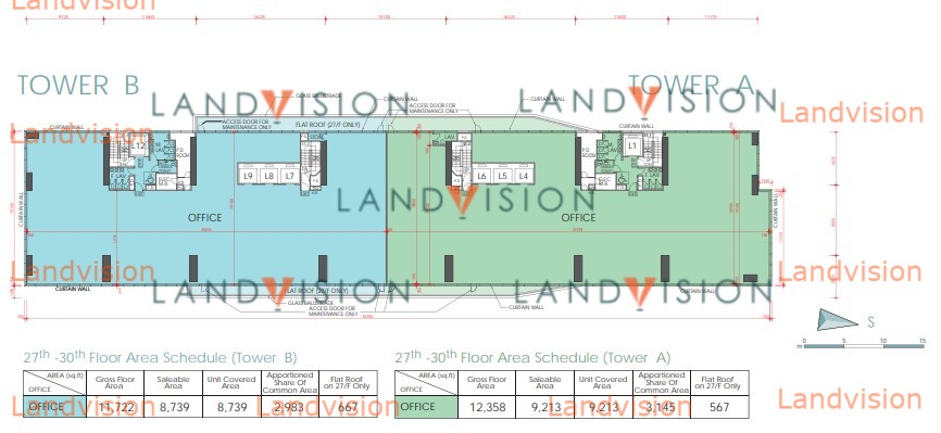 Capital Tower - Tower B- floor plan